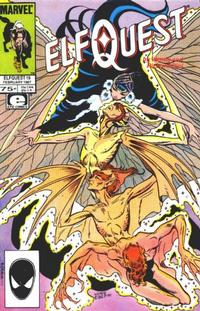 Cover Thumbnail for ElfQuest (Marvel, 1985 series) #19 [Direct]