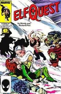 Cover Thumbnail for ElfQuest (Marvel, 1985 series) #24 [Direct]
