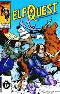Cover Thumbnail for ElfQuest (Marvel, 1985 series) #25 [Direct]