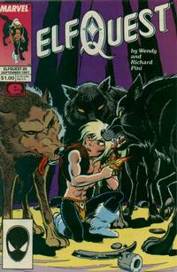 Cover Thumbnail for ElfQuest (Marvel, 1985 series) #26 [Direct]