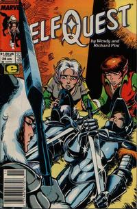 Cover Thumbnail for ElfQuest (Marvel, 1985 series) #28 [Newsstand]