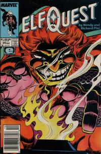 Cover Thumbnail for ElfQuest (Marvel, 1985 series) #29 [Newsstand]