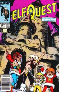 Cover Thumbnail for ElfQuest (Marvel, 1985 series) #31 [Newsstand]