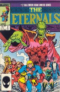 Cover Thumbnail for Eternals (Marvel, 1985 series) #2 [Direct]