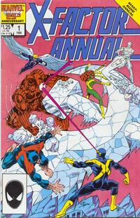 Cover Thumbnail for X-Factor Annual (Marvel, 1986 series) #1 [Direct]
