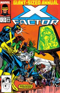 Cover Thumbnail for X-Factor Annual (Marvel, 1986 series) #2 [Direct]