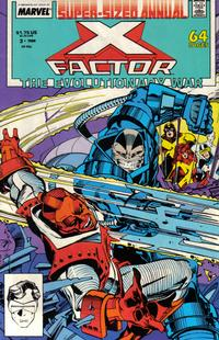Cover Thumbnail for X-Factor Annual (Marvel, 1986 series) #3 [Direct]