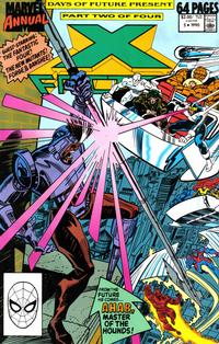 Cover Thumbnail for X-Factor Annual (Marvel, 1986 series) #5 [Direct]