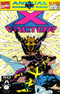 Cover Thumbnail for X-Factor Annual (Marvel, 1986 series) #6 [Direct]