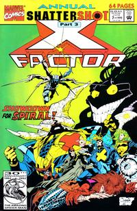 Cover Thumbnail for X-Factor Annual (Marvel, 1986 series) #7 [Direct]