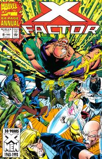 Cover Thumbnail for X-Factor Annual (Marvel, 1986 series) #8 [Direct]