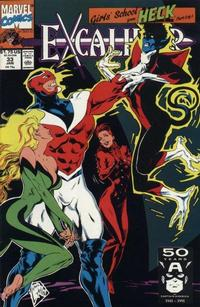 Cover Thumbnail for Excalibur (Marvel, 1988 series) #33 [Direct]