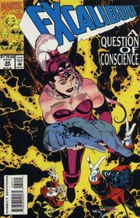 Cover Thumbnail for Excalibur (Marvel, 1988 series) #69 [Direct Edition]