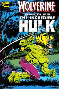 Cover Thumbnail for Wolverine Battles The Incredible Hulk (Marvel, 1989 series) #1
