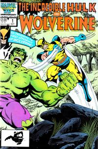 Cover Thumbnail for Incredible Hulk and Wolverine (Marvel, 1986 series) #1 [Direct]