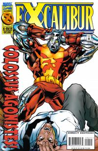 Cover Thumbnail for Excalibur (Marvel, 1988 series) #92 [Direct Edition]