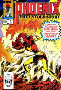 Cover Thumbnail for Phoenix (Marvel, 1984 series) #1 [Direct]