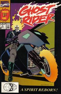 Cover Thumbnail for Ghost Rider (Marvel, 1990 series) #1 [Direct Edition]