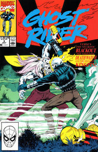 Cover Thumbnail for Ghost Rider (Marvel, 1990 series) #3 [Direct]