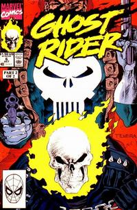 Cover Thumbnail for Ghost Rider (Marvel, 1990 series) #6 [Direct Edition]