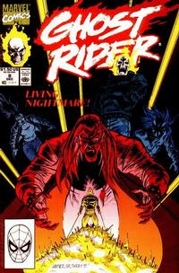 Cover Thumbnail for Ghost Rider (Marvel, 1990 series) #8 [Direct Edition]