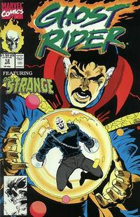 Cover Thumbnail for Ghost Rider (Marvel, 1990 series) #12 [Direct]
