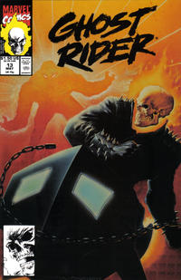 Cover Thumbnail for Ghost Rider (Marvel, 1990 series) #13 [Direct Edition]