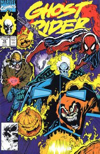 Cover Thumbnail for Ghost Rider (Marvel, 1990 series) #16 [Direct Edition]