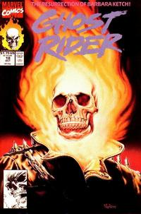 Cover Thumbnail for Ghost Rider (Marvel, 1990 series) #18 [Direct Edition]