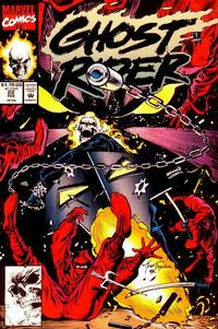 Cover Thumbnail for Ghost Rider (Marvel, 1990 series) #22 [Direct]