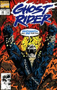 Cover Thumbnail for Ghost Rider (Marvel, 1990 series) #23 [Direct Edition]