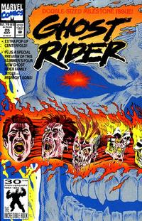 Cover Thumbnail for Ghost Rider (Marvel, 1990 series) #25 [Direct]