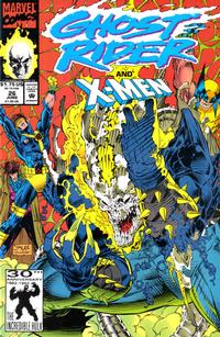Cover Thumbnail for Ghost Rider (Marvel, 1990 series) #26 [Direct Edition]