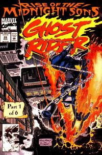 Cover Thumbnail for Ghost Rider (Marvel, 1990 series) #28 [Direct Edition]