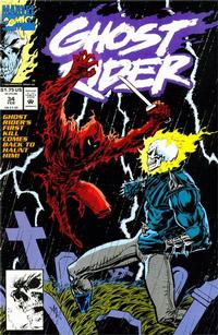 Cover Thumbnail for Ghost Rider (Marvel, 1990 series) #34 [Direct Edition]
