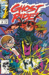 Cover Thumbnail for Ghost Rider (Marvel, 1990 series) #36 [Direct]