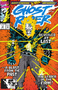 Cover Thumbnail for Ghost Rider (Marvel, 1990 series) #37 [Direct Edition]
