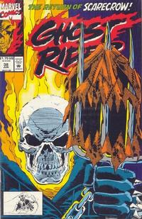 Cover Thumbnail for Ghost Rider (Marvel, 1990 series) #38 [Direct Edition]
