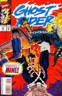Cover Thumbnail for Ghost Rider (Marvel, 1990 series) #39 [Direct Edition]