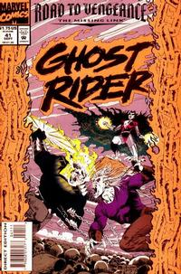 Cover Thumbnail for Ghost Rider (Marvel, 1990 series) #41 [Direct Edition]