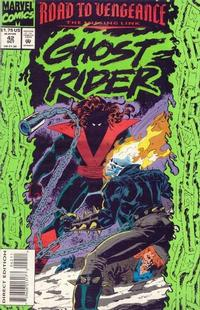 Cover for Ghost Rider (Marvel, 1990 series) #42 [Direct Edition]