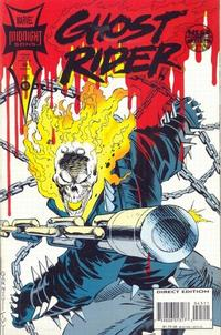 Cover Thumbnail for Ghost Rider (Marvel, 1990 series) #45 [Direct Edition]