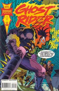 Cover for Ghost Rider (Marvel, 1990 series) #47 [Direct Edition]