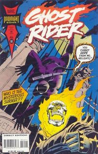 Cover Thumbnail for Ghost Rider (Marvel, 1990 series) #52 [Direct Edition]
