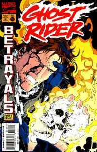 Cover Thumbnail for Ghost Rider (Marvel, 1990 series) #58 [Direct Edition]