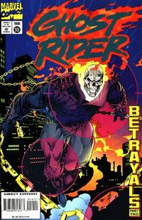 Cover Thumbnail for Ghost Rider (Marvel, 1990 series) #59 [Direct Edition]