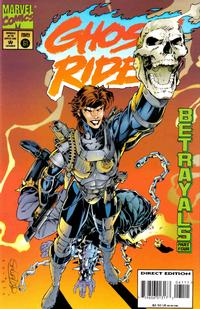 Cover Thumbnail for Ghost Rider (Marvel, 1990 series) #61 [Direct Edition]
