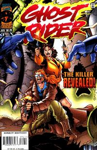 Cover Thumbnail for Ghost Rider (Marvel, 1990 series) #74 [Direct Edition]