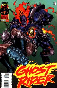 Cover Thumbnail for Ghost Rider (Marvel, 1990 series) #75 [Direct Edition]