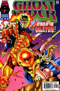 Cover Thumbnail for Ghost Rider (Marvel, 1990 series) #80 [Direct Edition]